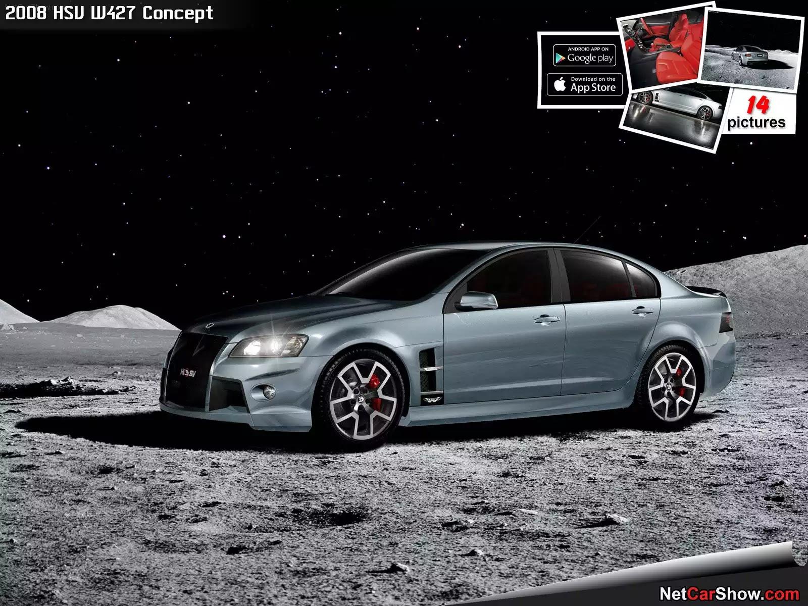 Hình ảnh xe ô tô HSV W427 Concept 2008 & nội ngoại thất