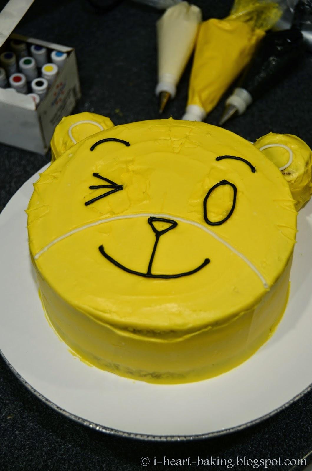 I Heart Baking Qiaohu Tiger Cake