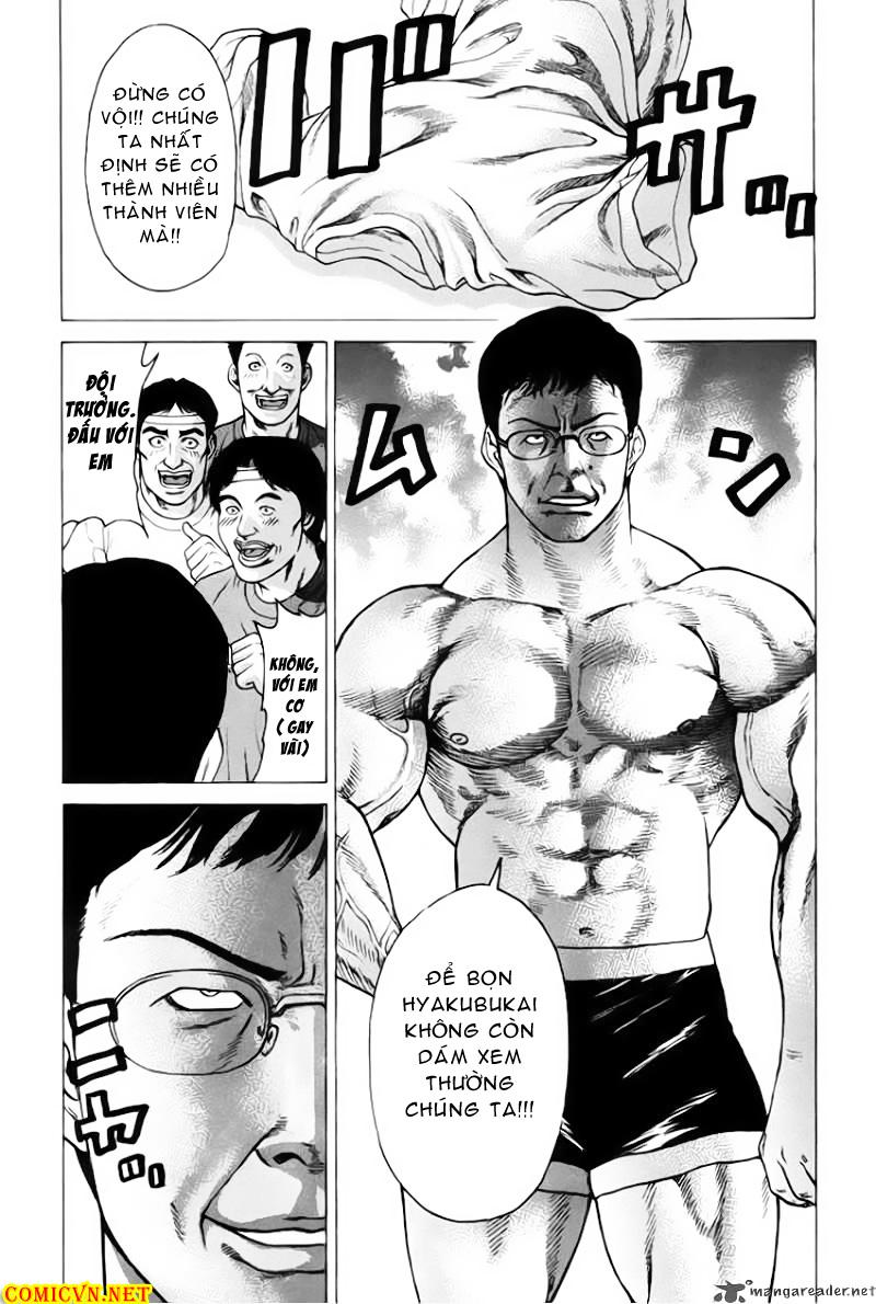 Karate Shoukoushi Kohinata Minoru chap 32 Trang 10