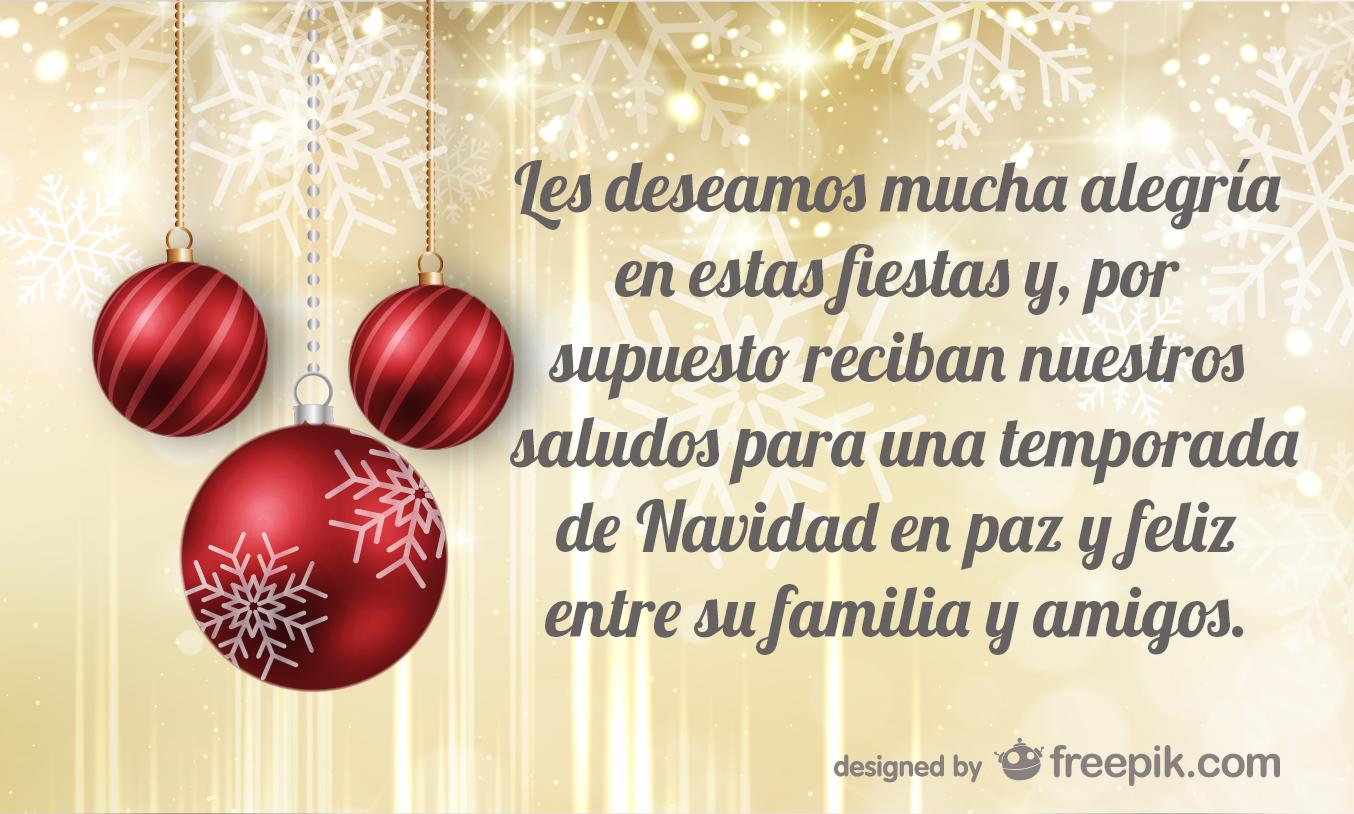 Amor y tinta frases de navidad para clientes - Frases para felicitar navidad empresas ...