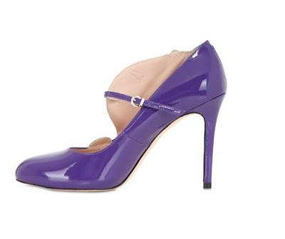 Minna Parikka purple Unicorn Shoes