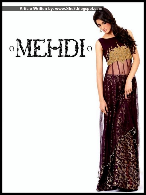 Pakistani Designer Mehdi's Wedding Dresses