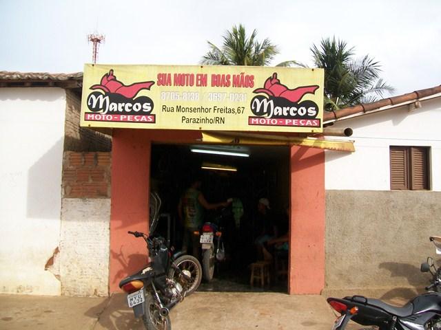 Blog de Pereiros   Parazinho/RN: Marcos moto peças