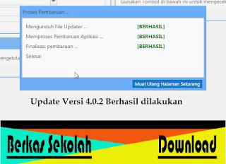 [Terbaru] Cara Update Dapodik Versi 4.0.2