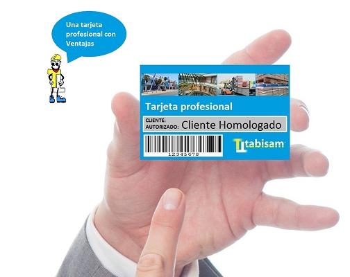 Solicita tu tarjeta profesional Tabisam