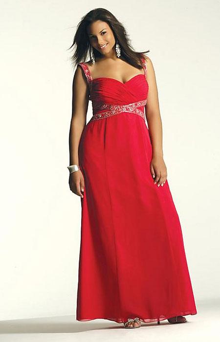 Hola hoy te traigo lindos vestidos de fiesta para gorditas color rojo