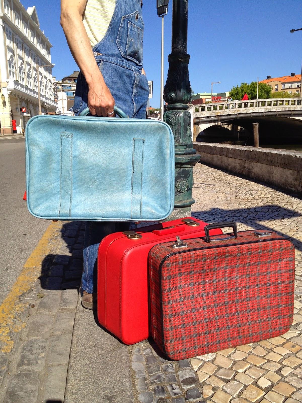 malas vintage, turista vintage, viajar com vintage