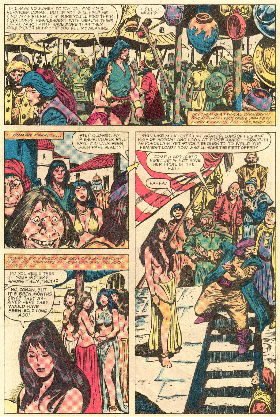 Conan the Barbarian (1970) Issue #142 #154 - English 4