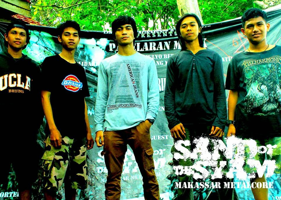 Sand Of The Syam Band Metalcore Makassar foto personil logo wallpaper