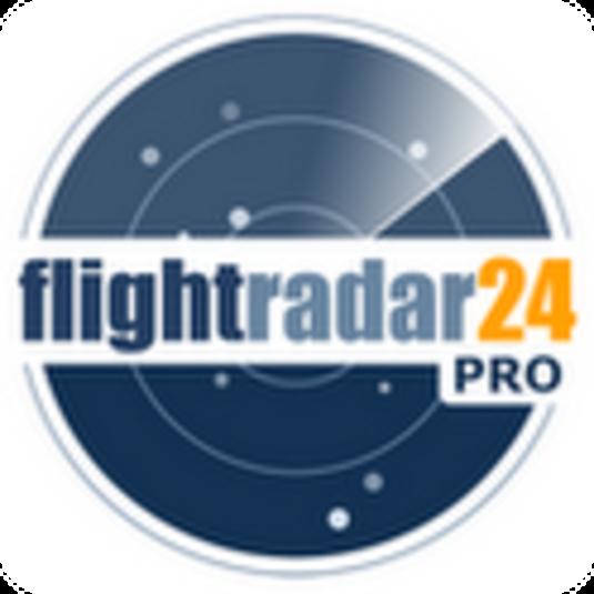 La aplicación Flightradar en tu dispositivo móvil