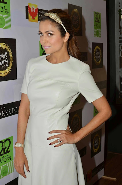 Amrita Arora Looks Super Sexy At The Launch Of Shine Young 2015 At Phonix Marketcity Kurla