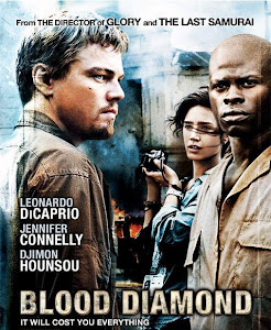 Poster Of Blood Diamond (2006) In Hindi English Dual Audio 300MB Compressed Small Size Pc Movie Free Download Only At worldfree4u.com