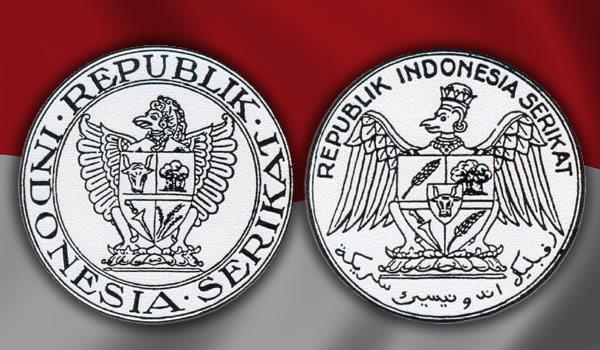 Sketsa awal burung Garuda sebagai lambang negara Republik Indonesia