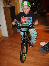 Jymani's 1st Bike! 2011
