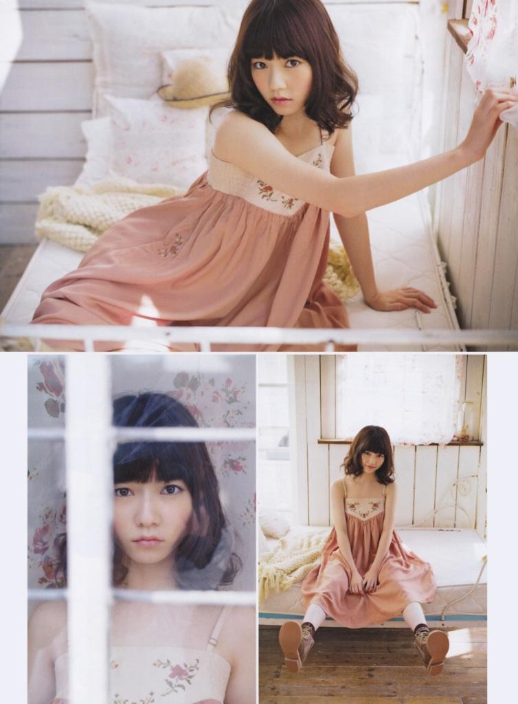Akb48 Shimazaki Haruka Gekkan Entame Jan 2013 4 Akb48 Shimazaki