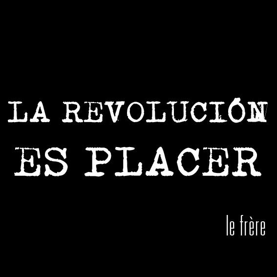 """""""Revolución"""",""""placer"""",""""curso"""""""