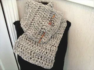 Easy Single Crochet Scarf Beginner's Free Pattern