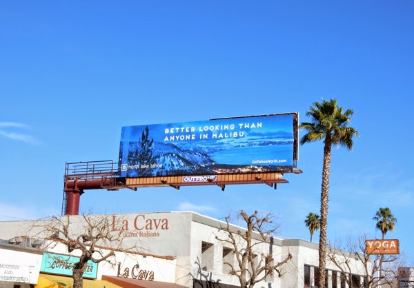 Better looking than anyone in Malibu billboard