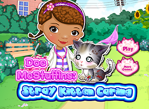 Doc McStuffins Stray Kitten Caring