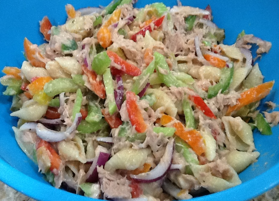 Out Of The Recipe Box Cold Summer Supper Tuna Pasta Salad