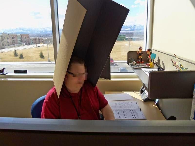 smešna slika: rad u kancelariji