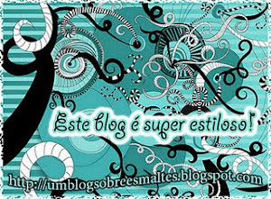 1° Selinho Do Blog