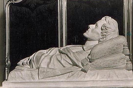 Masque mortuaire de l'Aiglon, fils de Napoléon