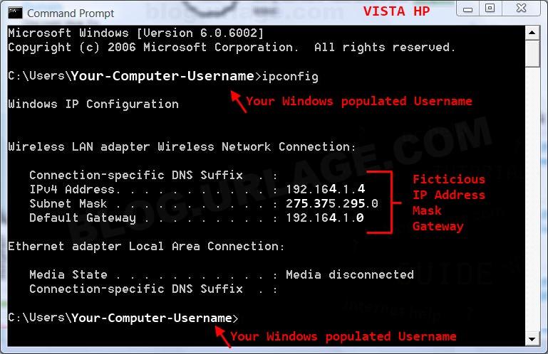 how to find ip address webcam