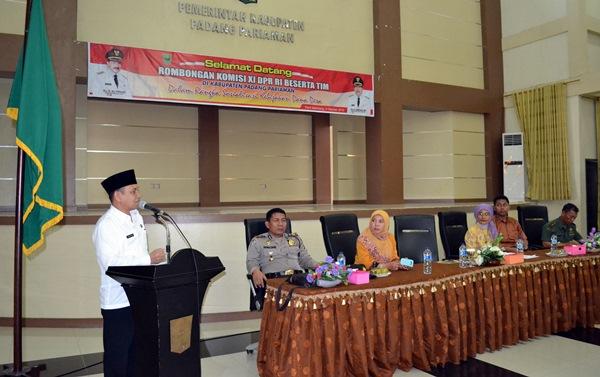 Tiga Kementerian Desak Pemkab Padangpariaman Segera Cairkan Dana Desa
