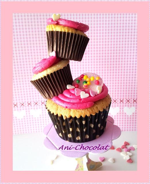 Cupcakes De Leche Condensada Con Frosting De Frambuesa (de La Buena)