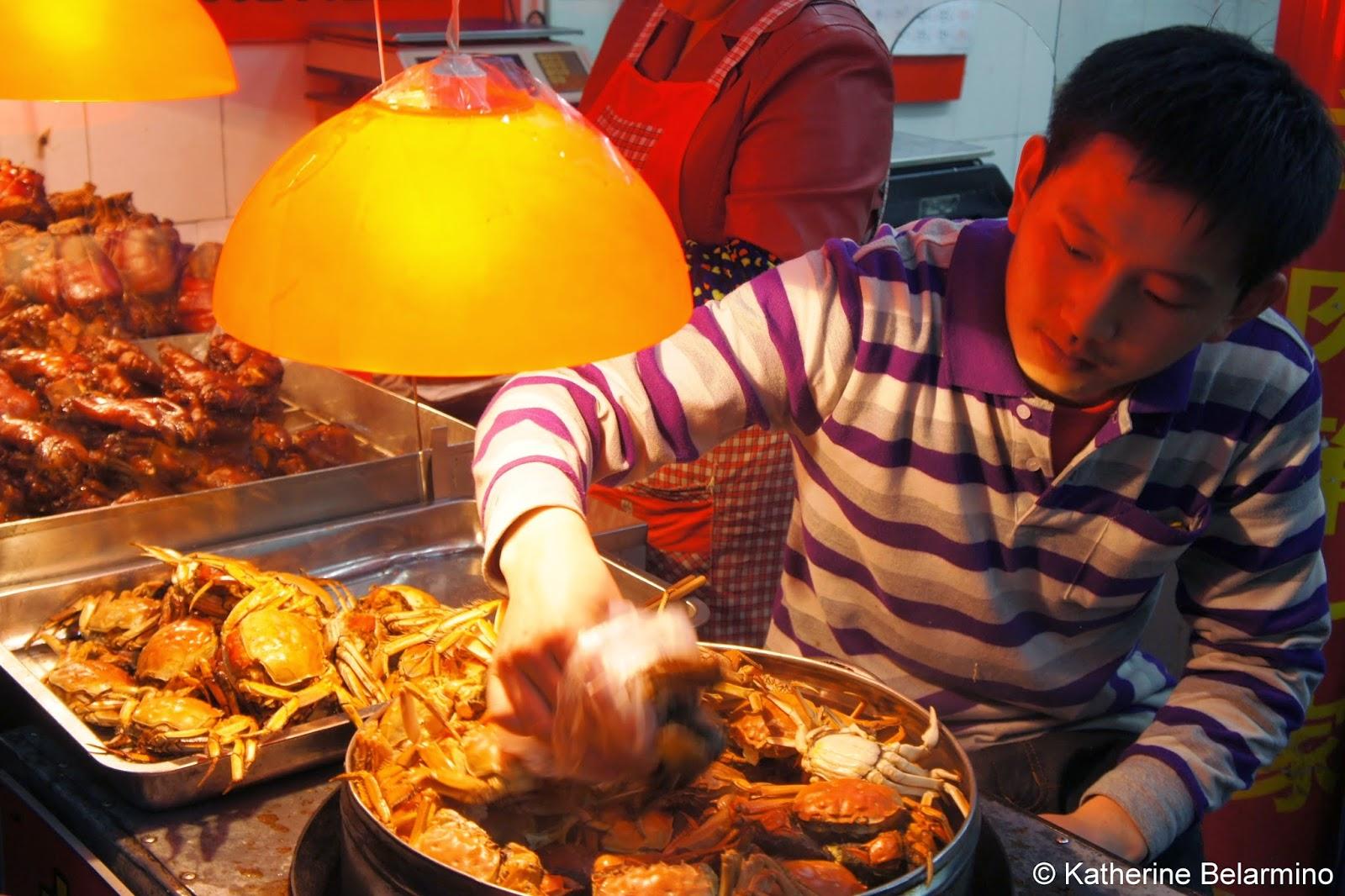 Hairy Crab 大閘蟹 in Xibao Shanghai China