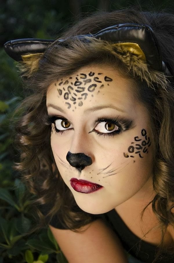 NYX.Ukraine: Макияж на Halloween - ИДЕЯ 1 - Хэлоуинский котик