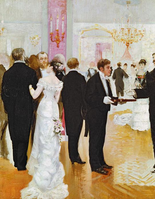 enchanted serenity of period films paintings of weddings