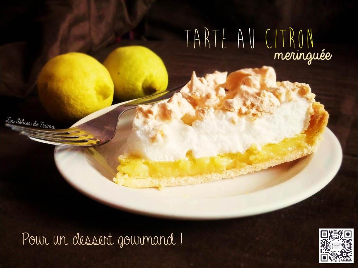 Tarte au citron meringuée, pour un dessert gourmand !
