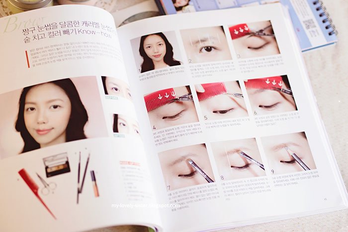 ... with love: Book Review 6 : Pony's Special Make-up Book New Edition