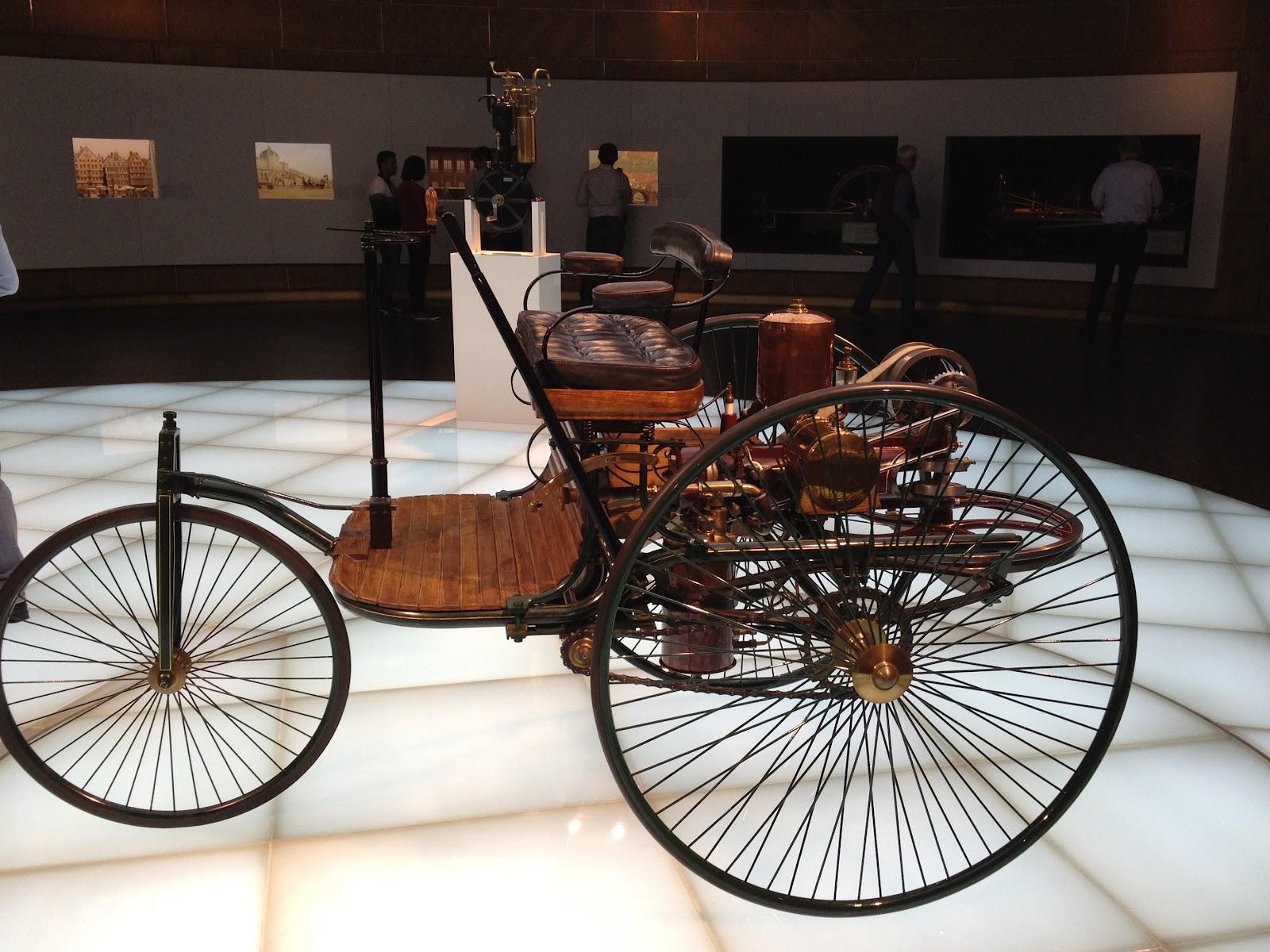 News from Germany: Mercedes Benz Museum, Stuttgart