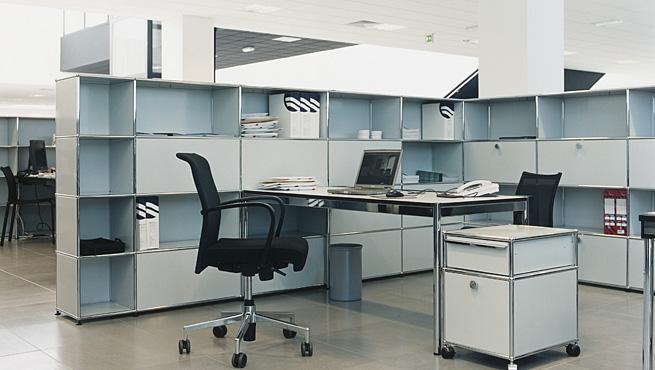 usm haller workstation 655 370 furniture. Black Bedroom Furniture Sets. Home Design Ideas
