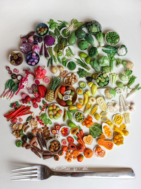 Behind the Project of Miniature Fruit and Veggies