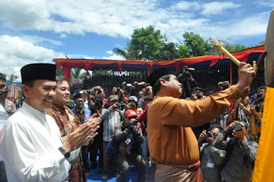 Tim Kesenan Kota Padang Panjang Tampil di FMPDK XIV