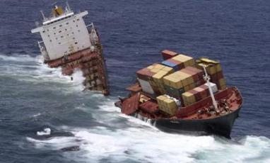 Pravda internacional naufraga barco de eeuu que llevaba armas a terroristas sirios - Contenedores de barco ...