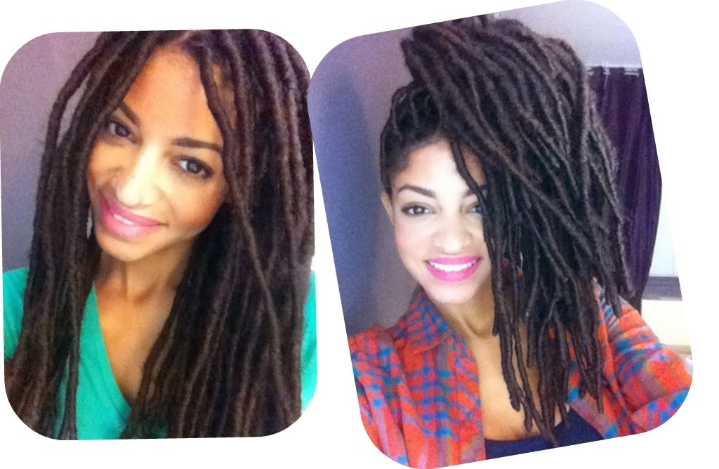 Loc Extensions For Natural Hair A Fall Protective Style