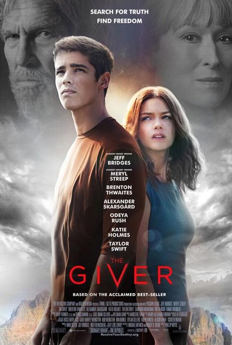 Film The Giver 2014 di Bioskop