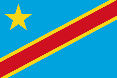 Download the Democratic Republic Of The Congo Flag Free