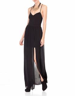 askılı elbise, tüllü elbise, siyah elbise, uzun elbise, abiye, abiye elbise