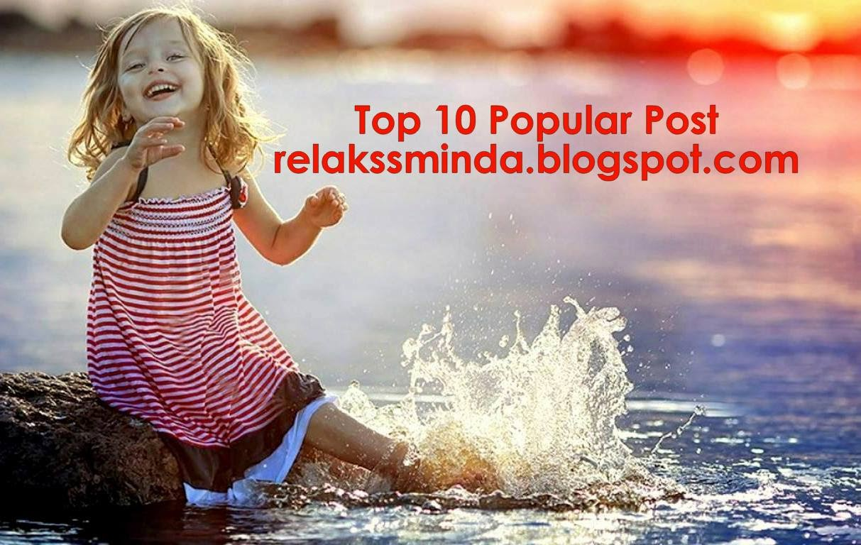 September Top 10 Popular Post Relaks Minda