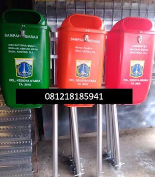 tong sampah plastik hdpe pilah3 Rp.1.950.000,-