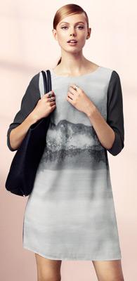 vestido recto H&M