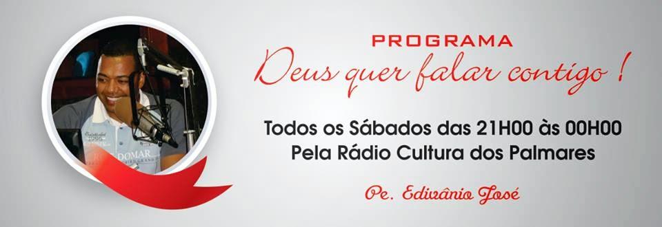 PROGRAMA NA RÁDIO CULTURA AM