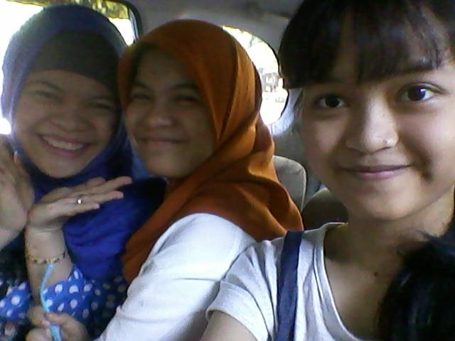 me, sasha and rana