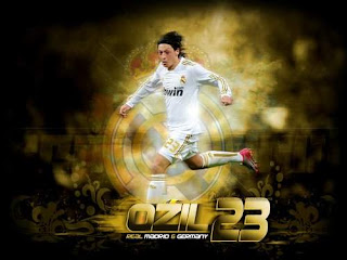 euro 2012 wallpaper player ozil